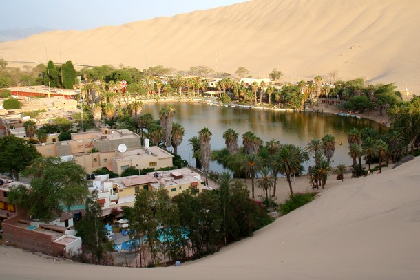 Huacachina Desert Oasis, peru, south america