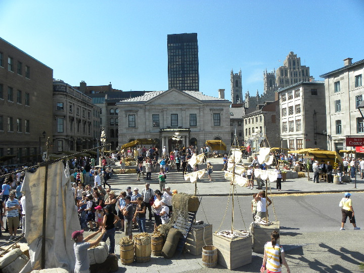 Place Royale, Montreal, Quebec