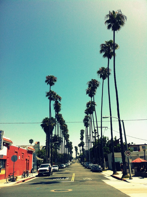 Santa Monica Street, California