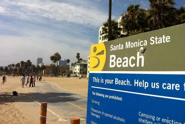 Santa Monica State Beach Park, California
