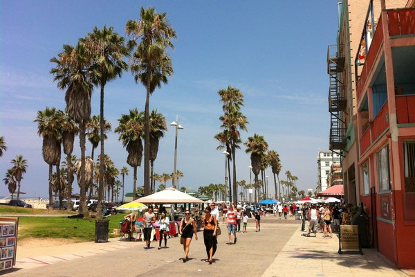 Venice Beach Boardwalk, California