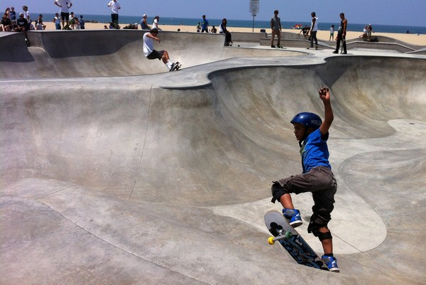 Venice Beach Skate Park, California
