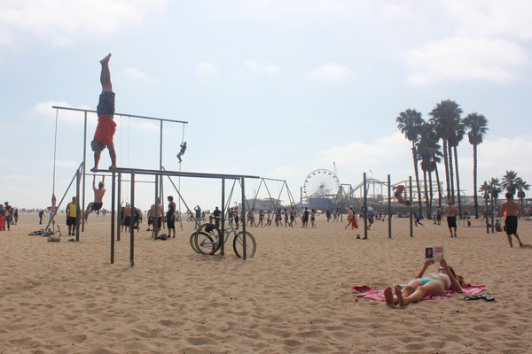 Santa Monica Beach California