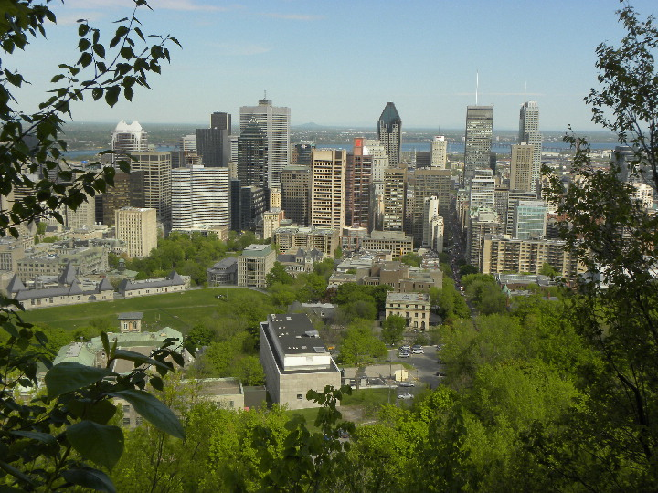 City Views of Montreal, Quebec