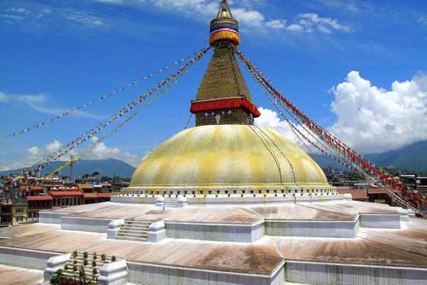 Boudhanath Temple Kathmandu Nepal