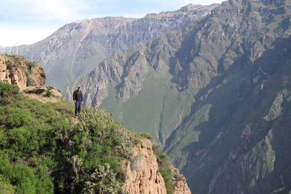 Hiking, Colca Canyon, Peru