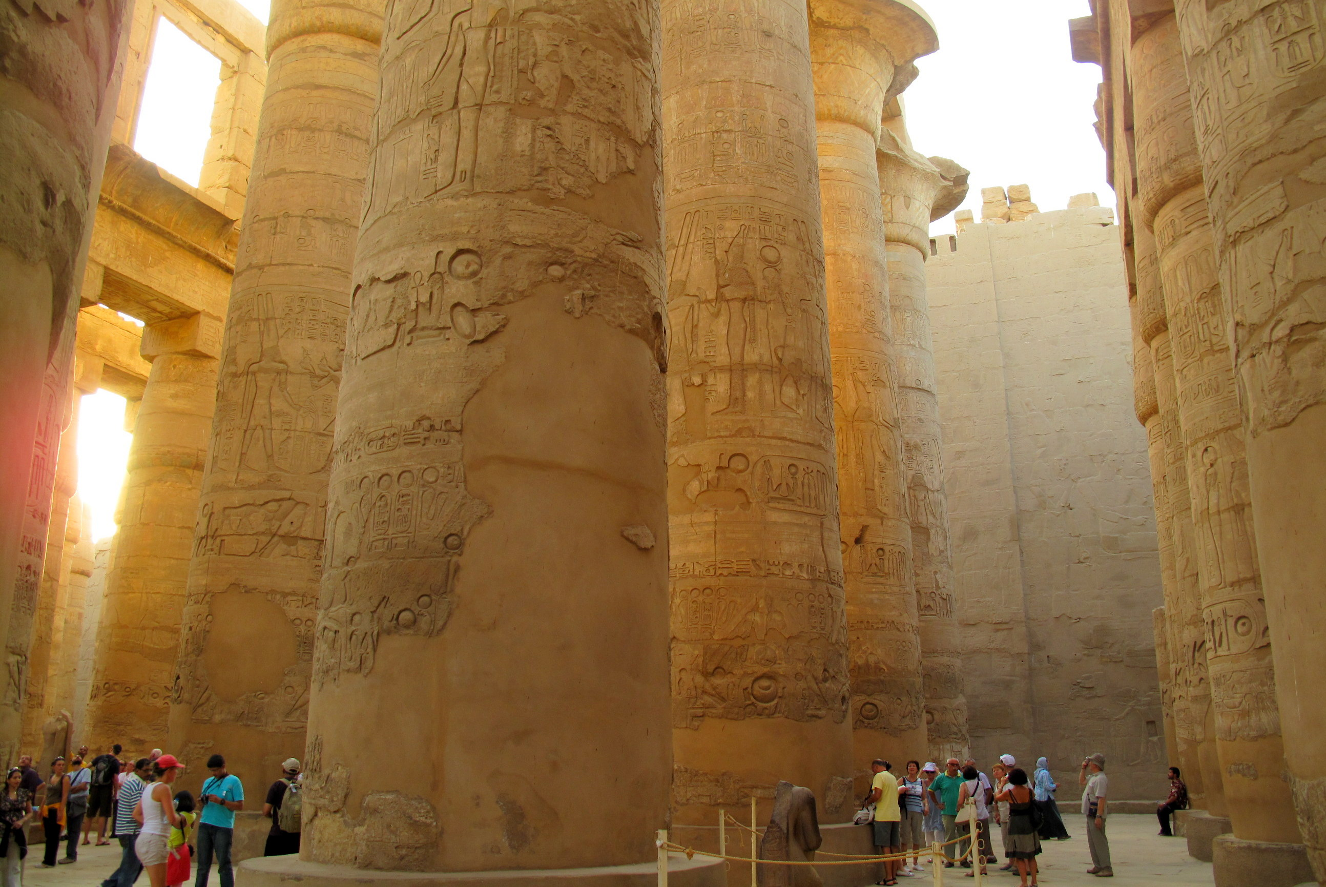 Photo of the Week: Walking Amongst Giants in Luxor