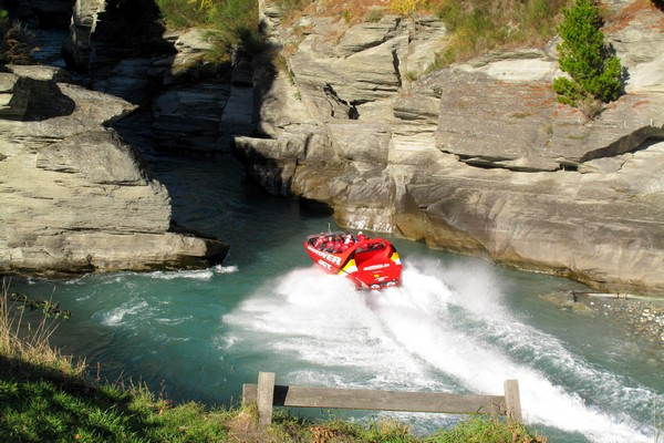 Photo of the Week: Canyon Jet boating in Queenstown