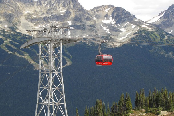 Photo of the Week: Whistler's Record Breaking Gondola