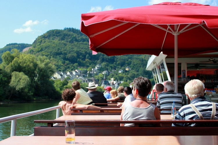 views of Mosel River Cruise, Germany