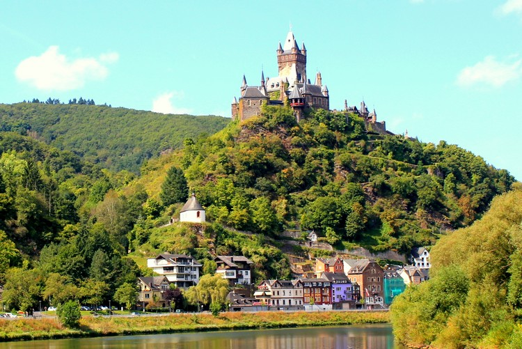 Cochem Castle, Mosel River, Germany
