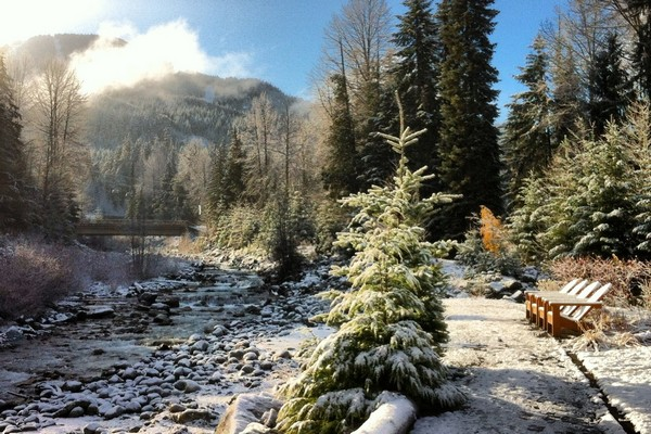 Winter in Whistler, British Columbia