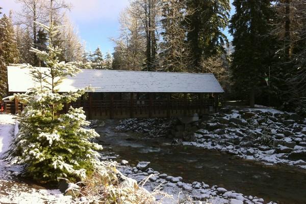 Winter in Whistler, British Columbia