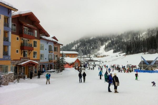 Sun Peaks Ski Resort, British Columbia