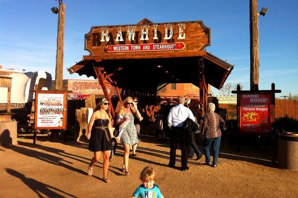 Rawhide Western Town, Arizona