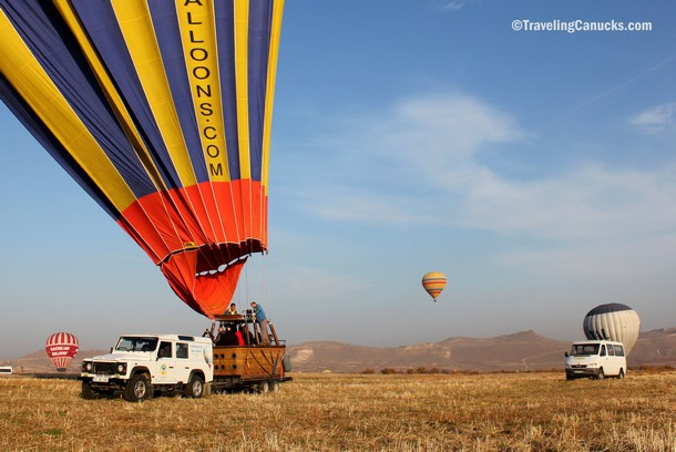 Photo of the Week: The Perfect Landing in Cappadocia