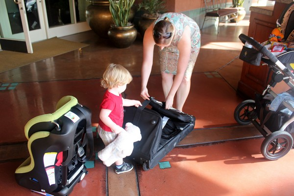 Family Travel Tips - Do you bring your car seat?