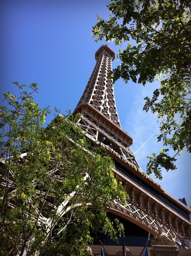 Las Vegas Strip - Paris, Eiffel Tower