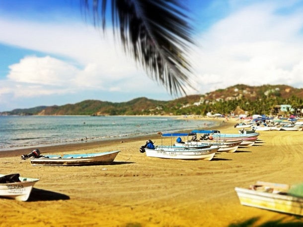 fishing boats, Sayulita, Mexico