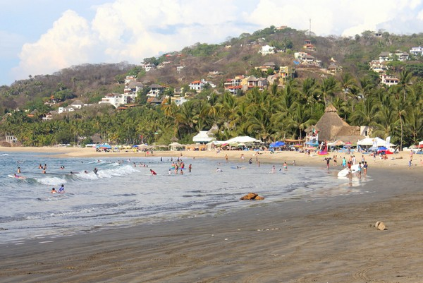 Beach in Sayuita Mexico