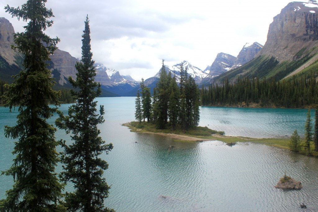 Maligne Lake in Jasper National Park, Alberta