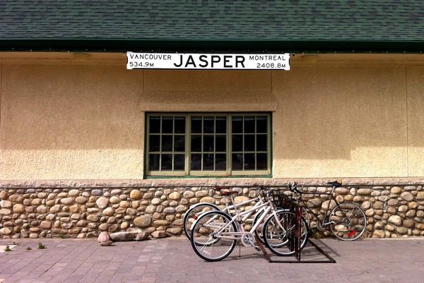Jasper train station, Alberta