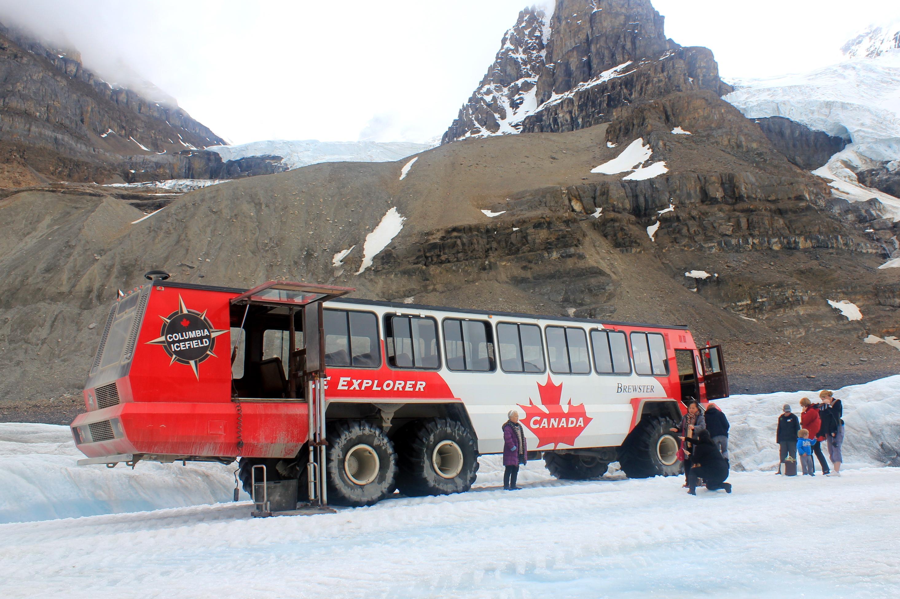 Glacier Walking in the Canadian Rockies