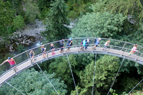 Cliffwalk at Capilano Suspension Bridge