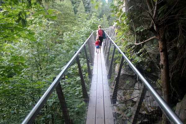 Capilano Cliff Walk, North Vancouver