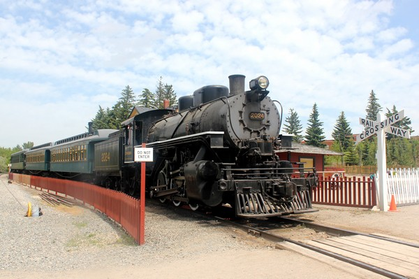 Steam Train at Heritage Park, Calgary