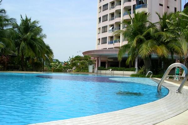 pool at apartment in penang, malaysia