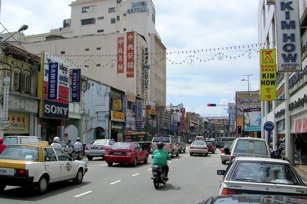 Streets, Penang, Malaysia