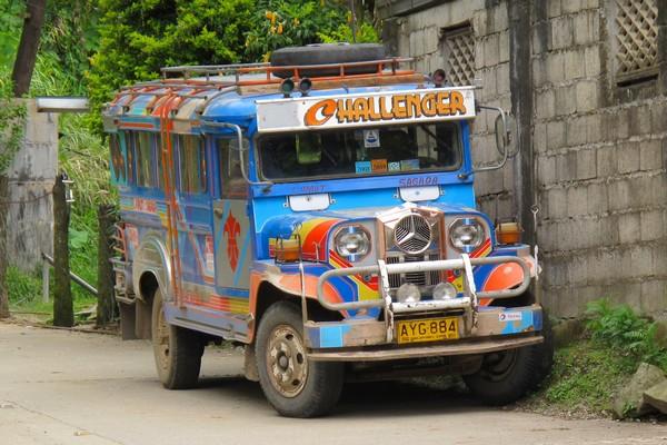 Jeepney, Banaue, Philippines