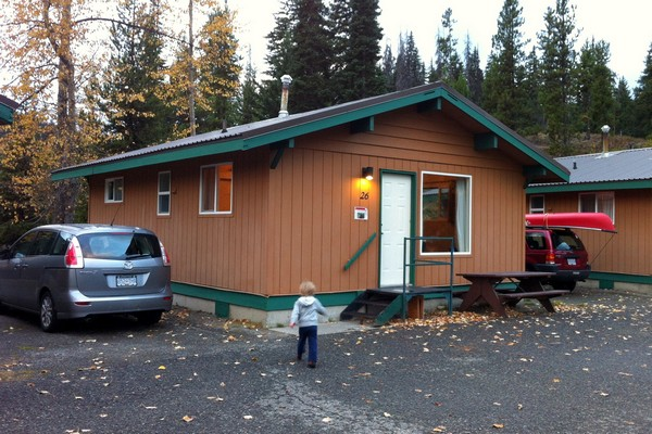 Cabin rental, Manning Park Resort, British Columbia