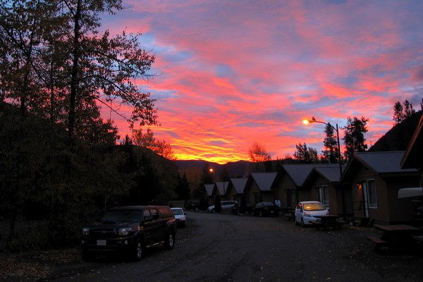Sunrise, Manning Park Resort, British Columbia