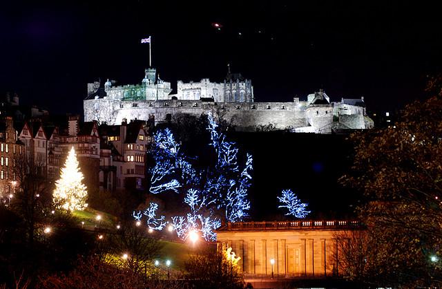 edinburgh christmans scotland