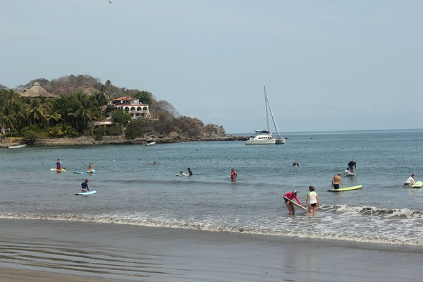 Beach at Sayulita Mexico