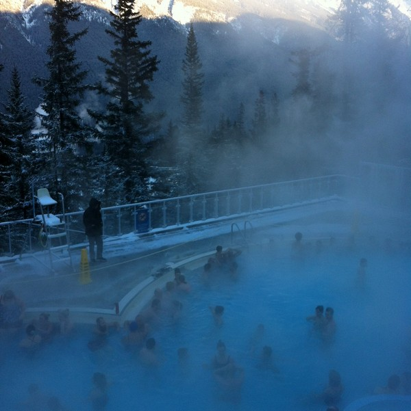 Banff Upper Hot Springs, Banff, Alberta