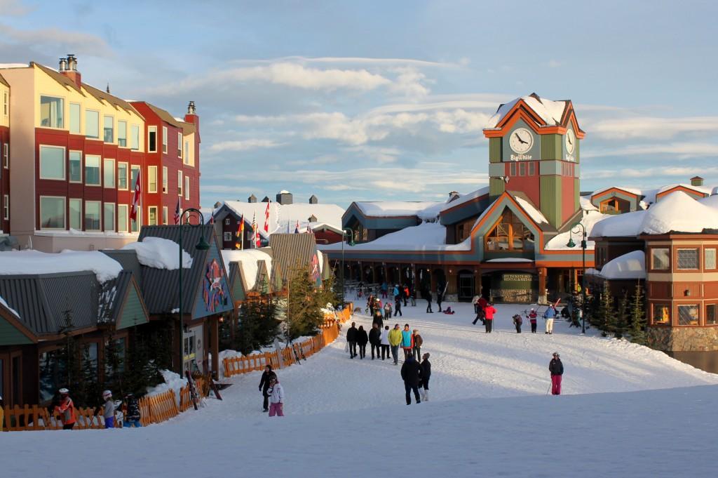 alpine village at Big White Ski Resort in Kelowna British Columbia