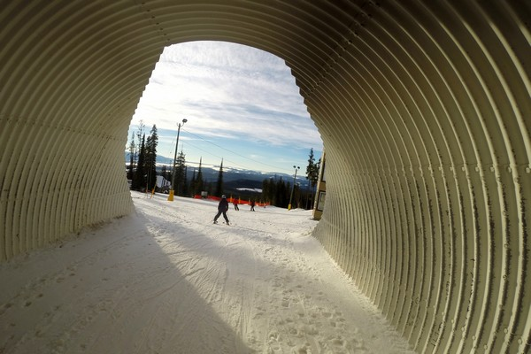 Snowboarding, Big White Ski Resort, British Columbia