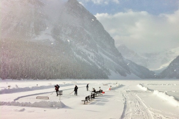 Winter, Lake Louise, Alberta, Canada