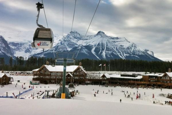 Lake Louise Ski Resort, Banff National Park, Alberta