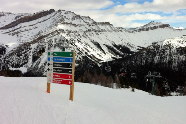 Lake Louise Ski Resort, Banff National Park, Alberta