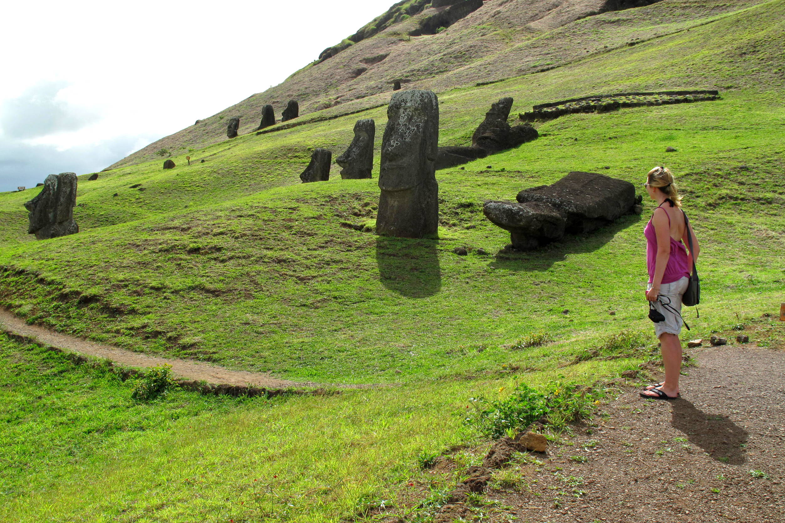 Photo of the Week: Awestruck on Easter Island