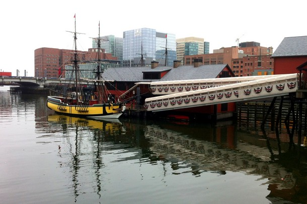 Boston tall ships and tea party museum