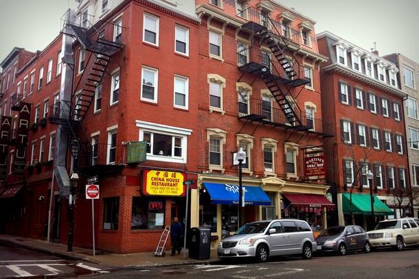 Brick Buildings, Boston North End