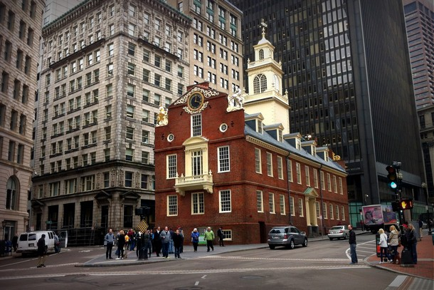 Old State Building, Boston