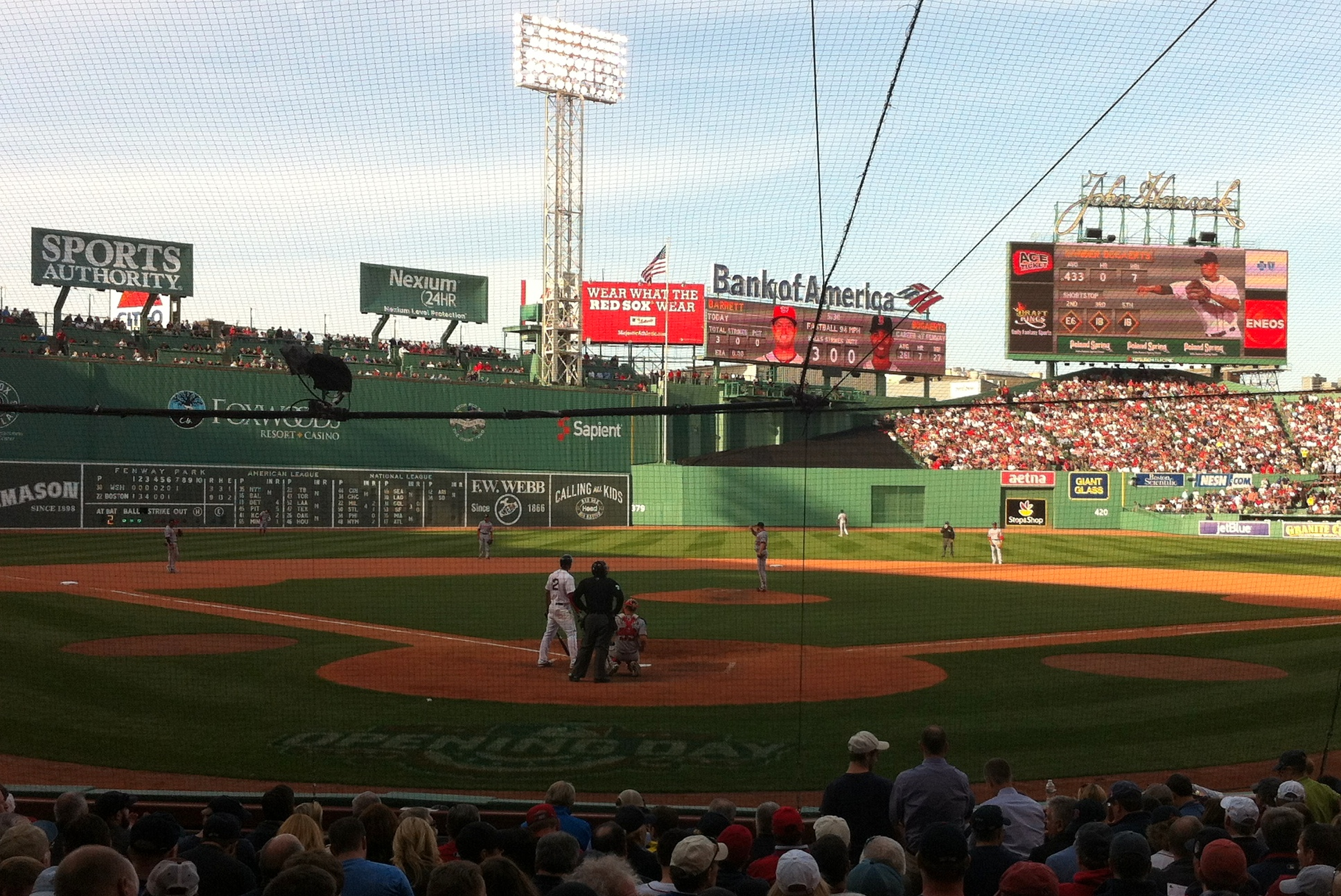 Field of Dreams at Fenway Park in Boston