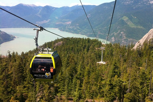 Sea to Sky Gondola, Squamish, BC