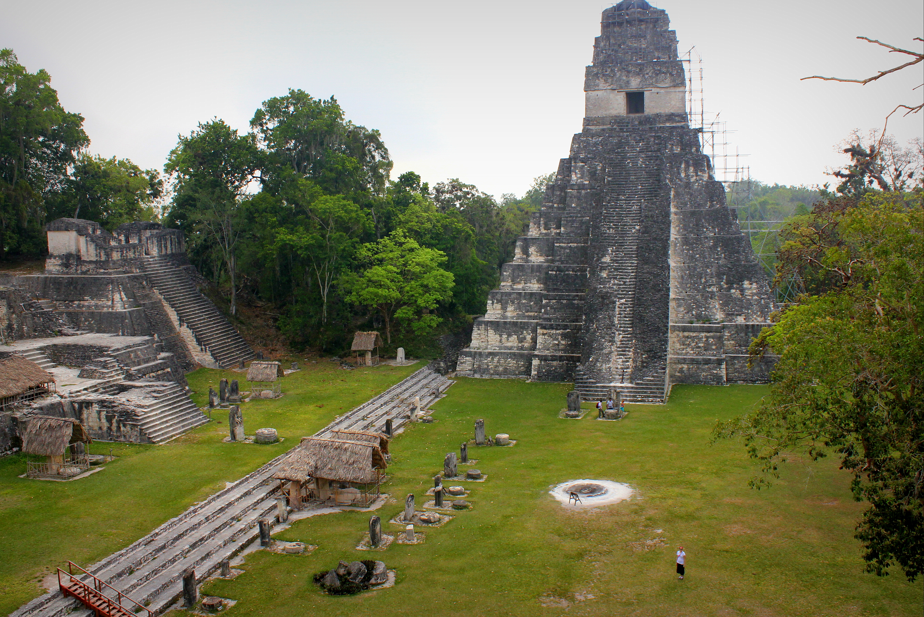 Photo of the Week: Mayan Pyramid in Tikal National Park